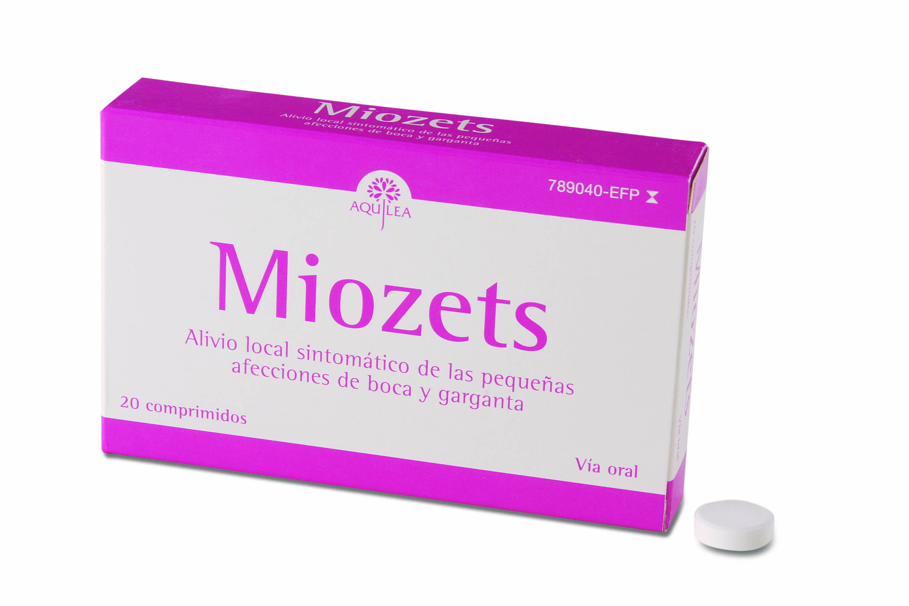 MIOZETS, 20 COMPRIMIDOS